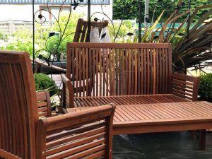 traditional wooden garden furniture